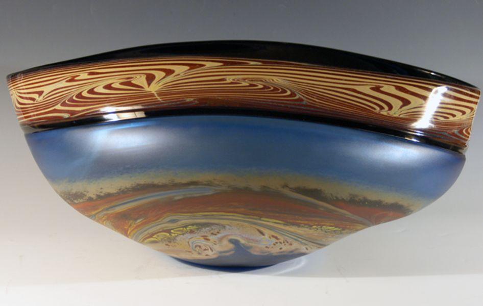 Incalmo Jupiter Vessel, Turquoise