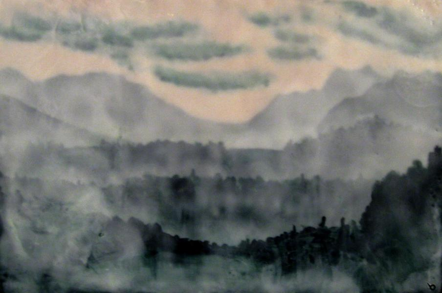 Phthalo Landscape Study II