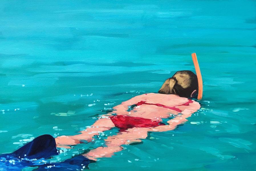 Orange Snorkel