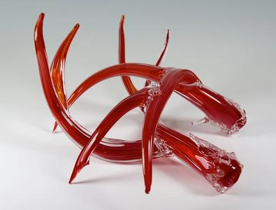 Glass Antlers, Red