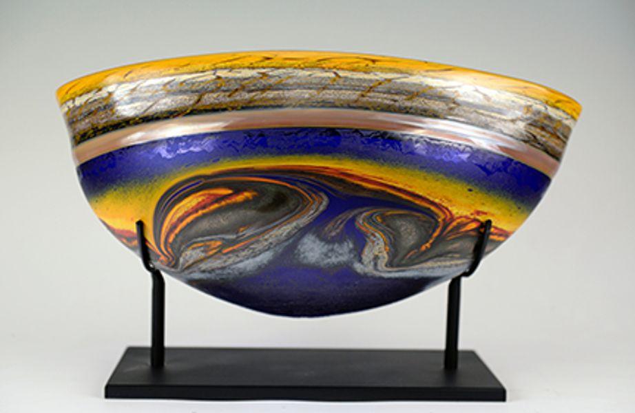 Jupiter Vessel Cobalt with Stand
