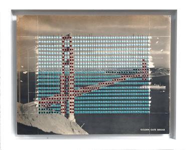 Borrowed Landscape Study No. 54 – California, San Francisco Golden Gate Bridge