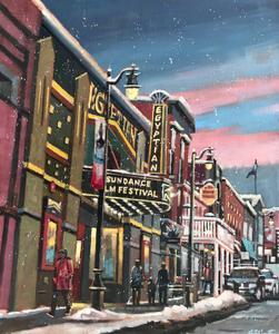 Snowfall on Sundance