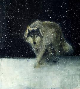 Grey Wolf (Deep Snow)