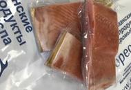 Филе лососевых рыб слабосолёное кусок