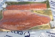 Филе лососёвых рыб свежемороженое