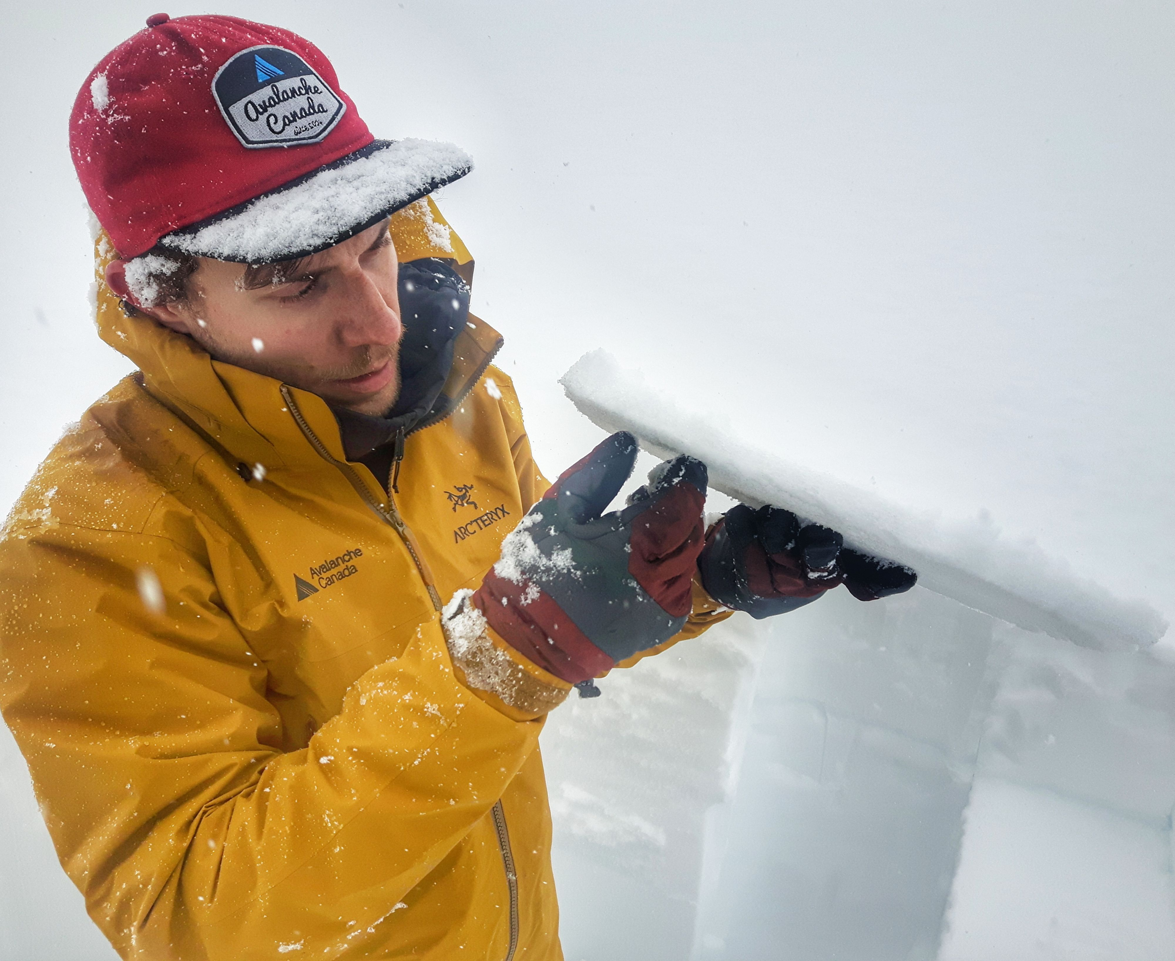 There are many types of crusts, which are formed when the surface snow is melted by sun, rain, or temperature changes, and then refreezes. While they are not weak on their own, avalanches are more likely when a crust lies next to a weak layer because they make for such a great sliding surface.
