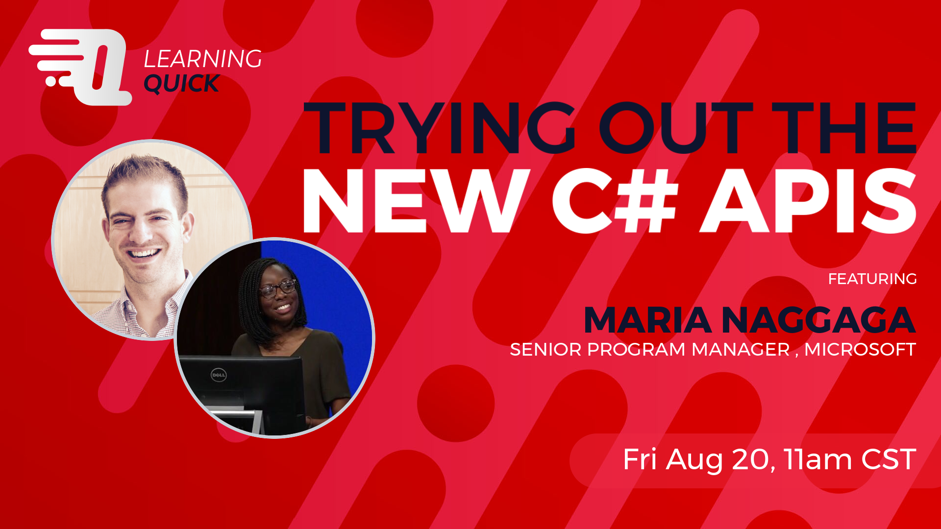 Trying Out the New C# APIs with Maria Naggaga