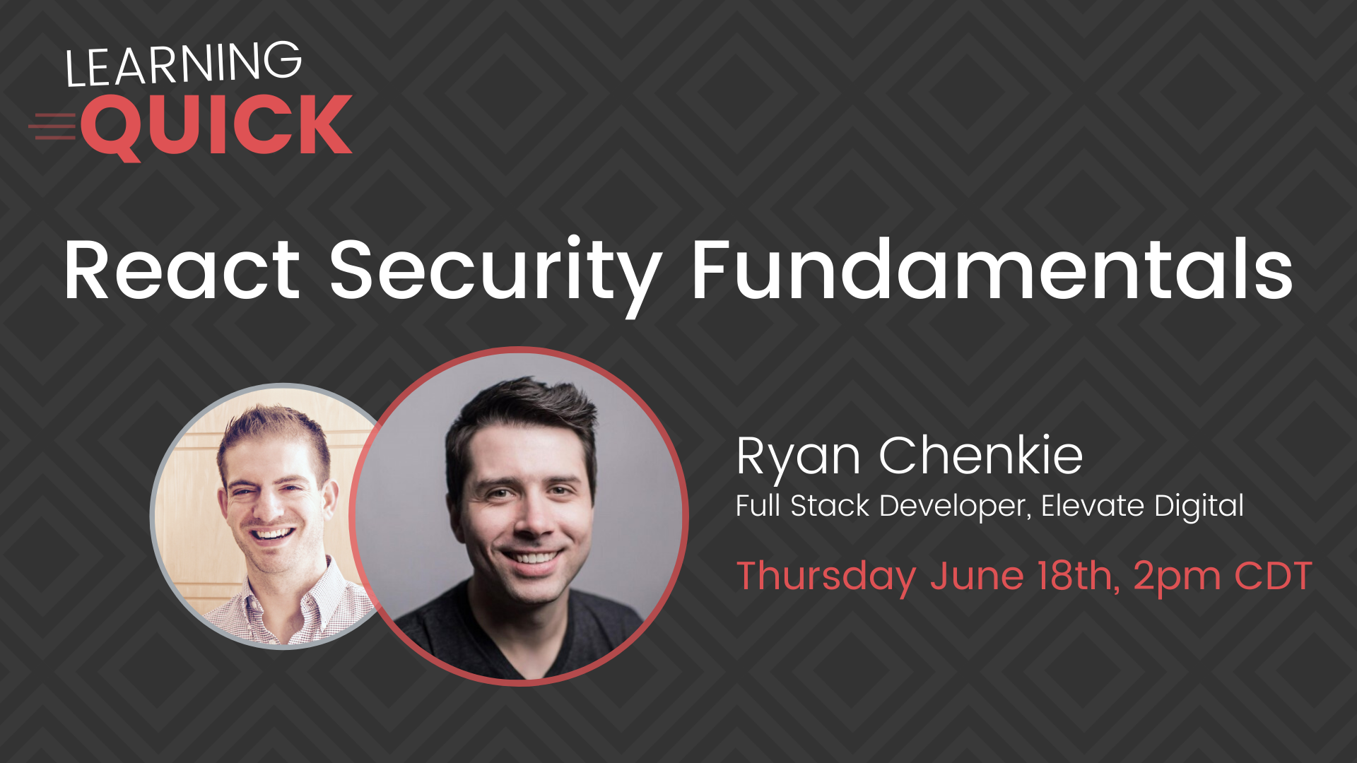 React Security Fundamentals with Ryan Chenkie
