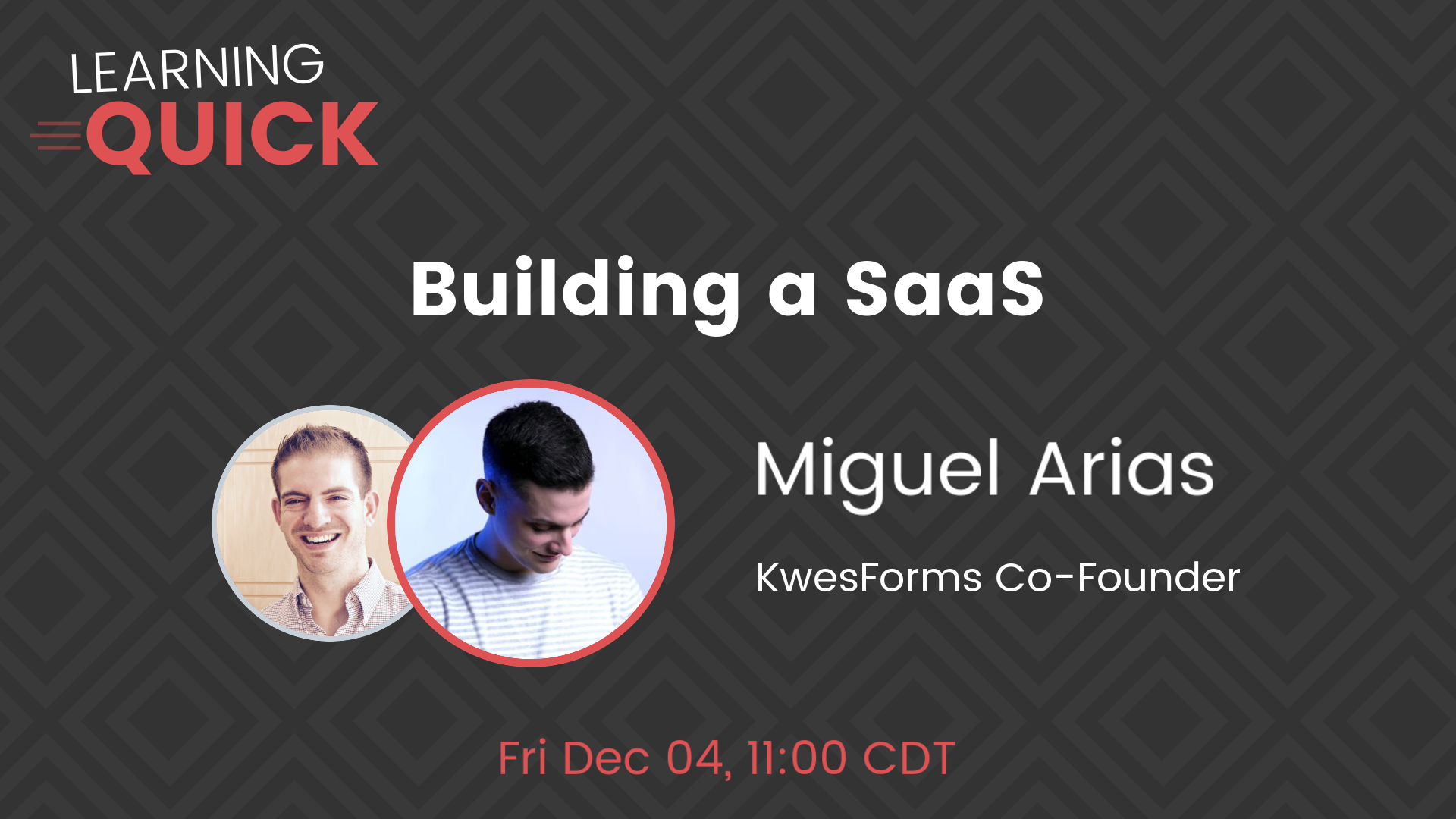 Building a SaaS with Miguel