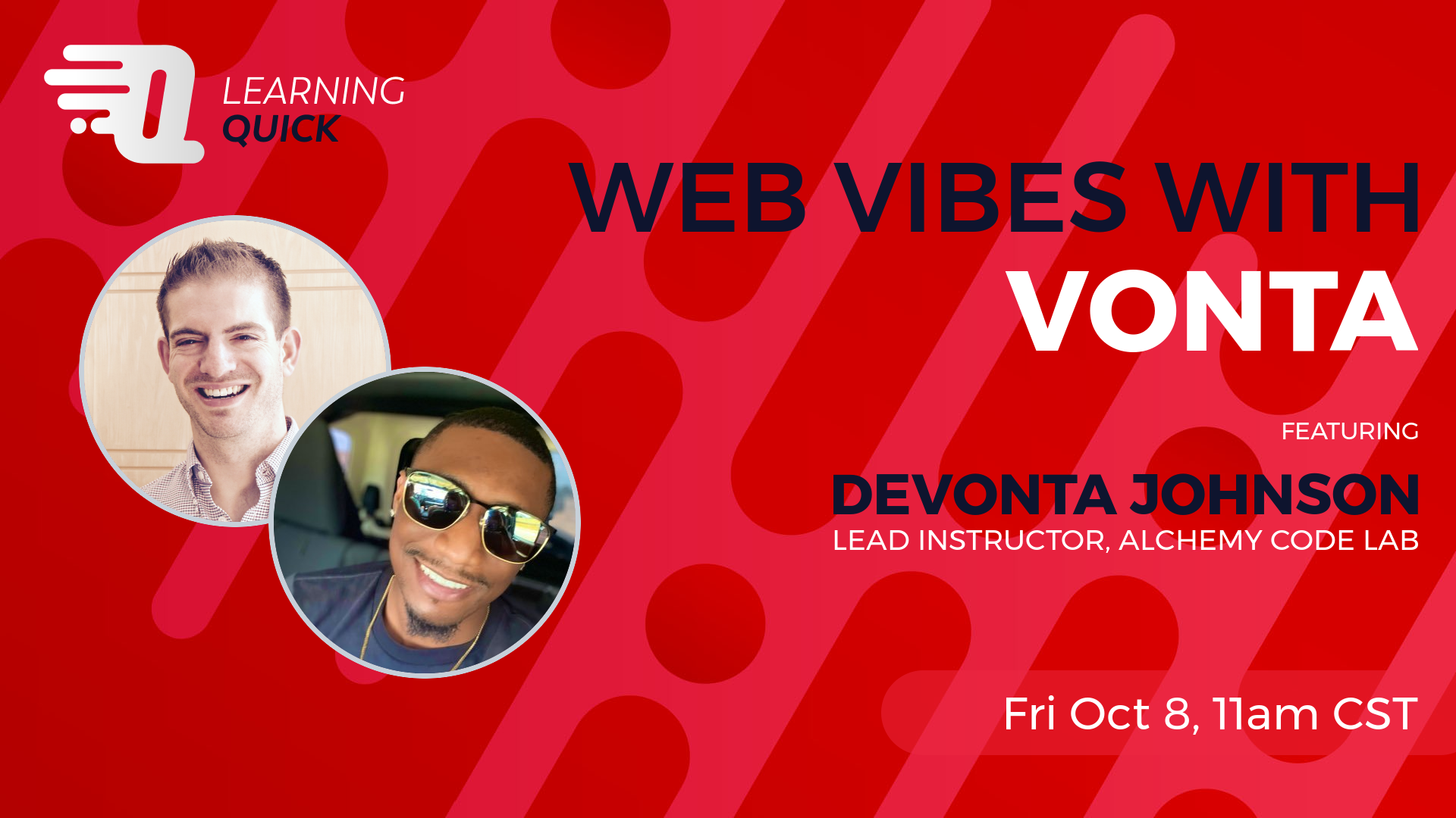 Web Vibes with Vonta with DeVonta Johnson