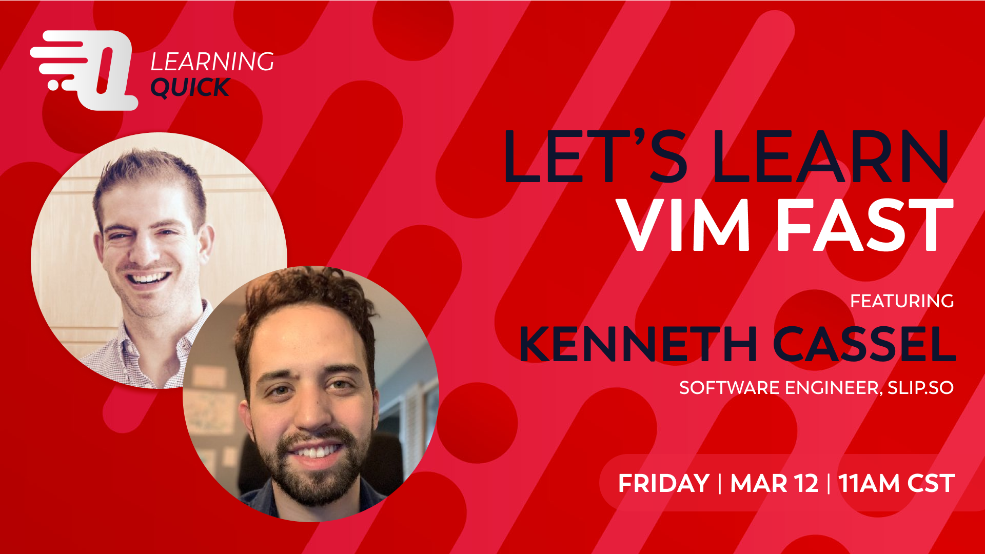 Let's Learn VIM Fast with Kenneth Cassel
