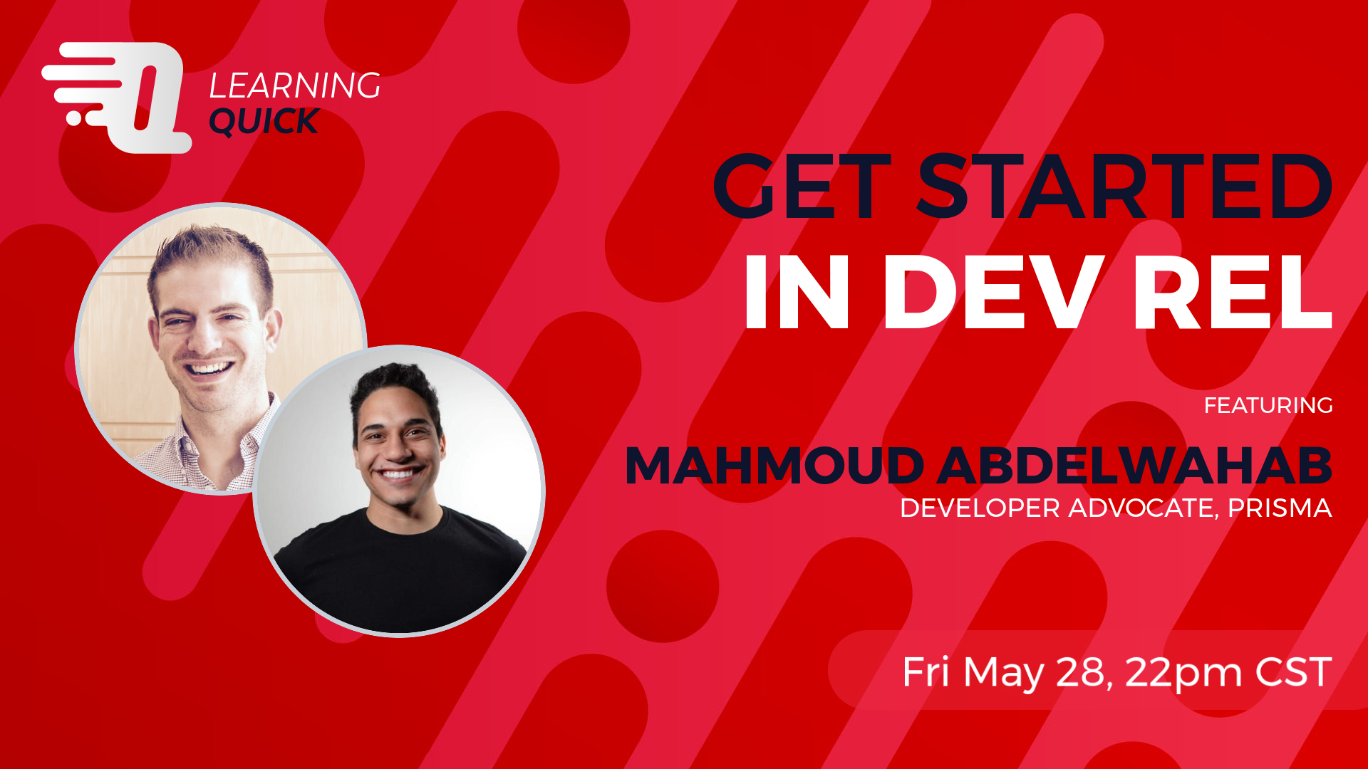 Get Started in Dev Rel with Mahmoud Abdelwahab