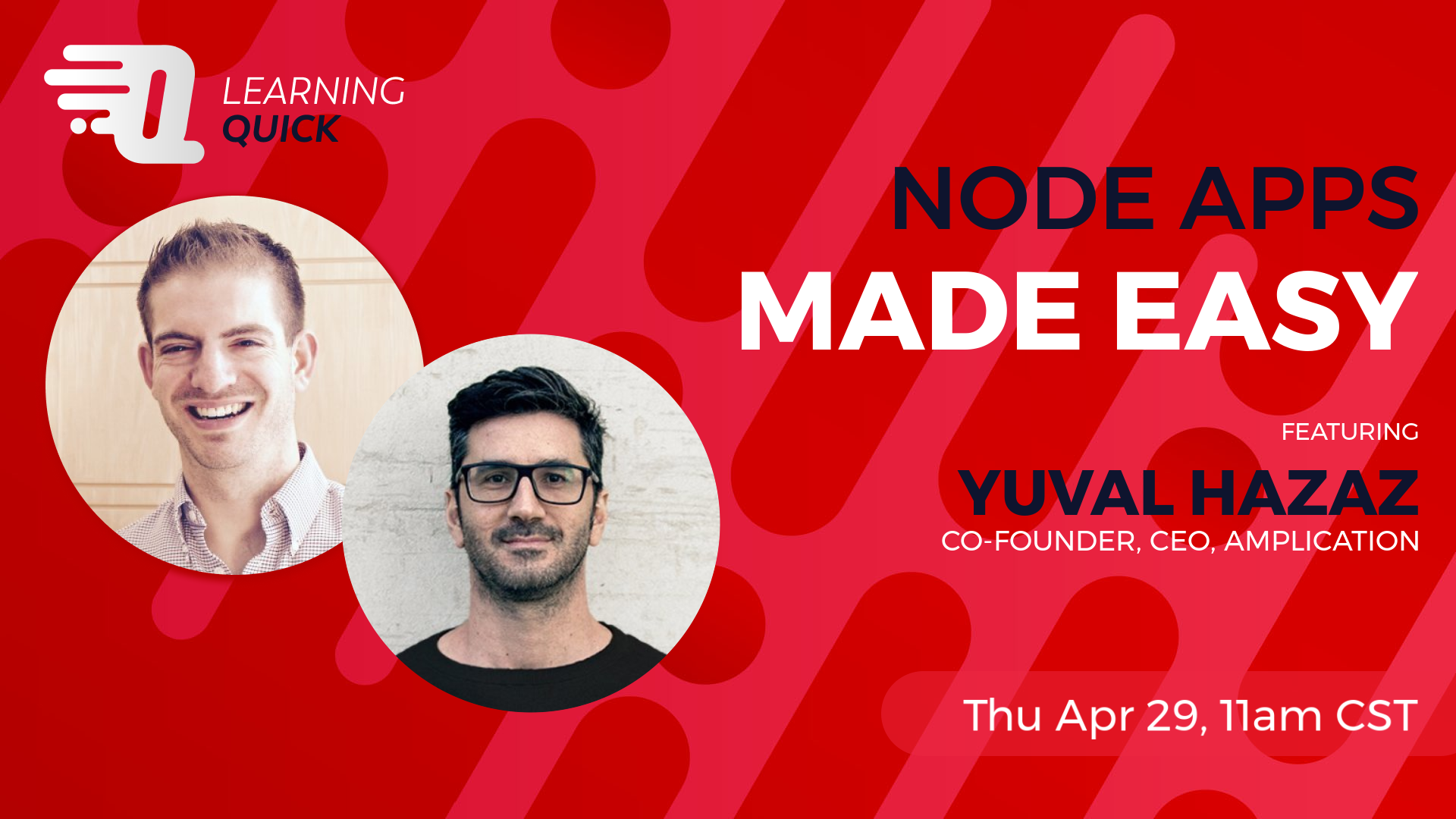 Node Apps Made Easy with Yuval Hazaz