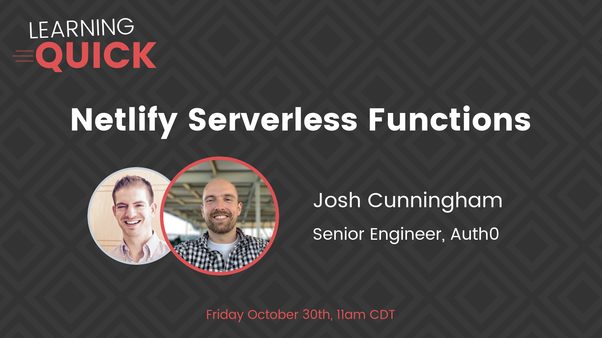 Netlify Serverless Functions with Josh Cunningham