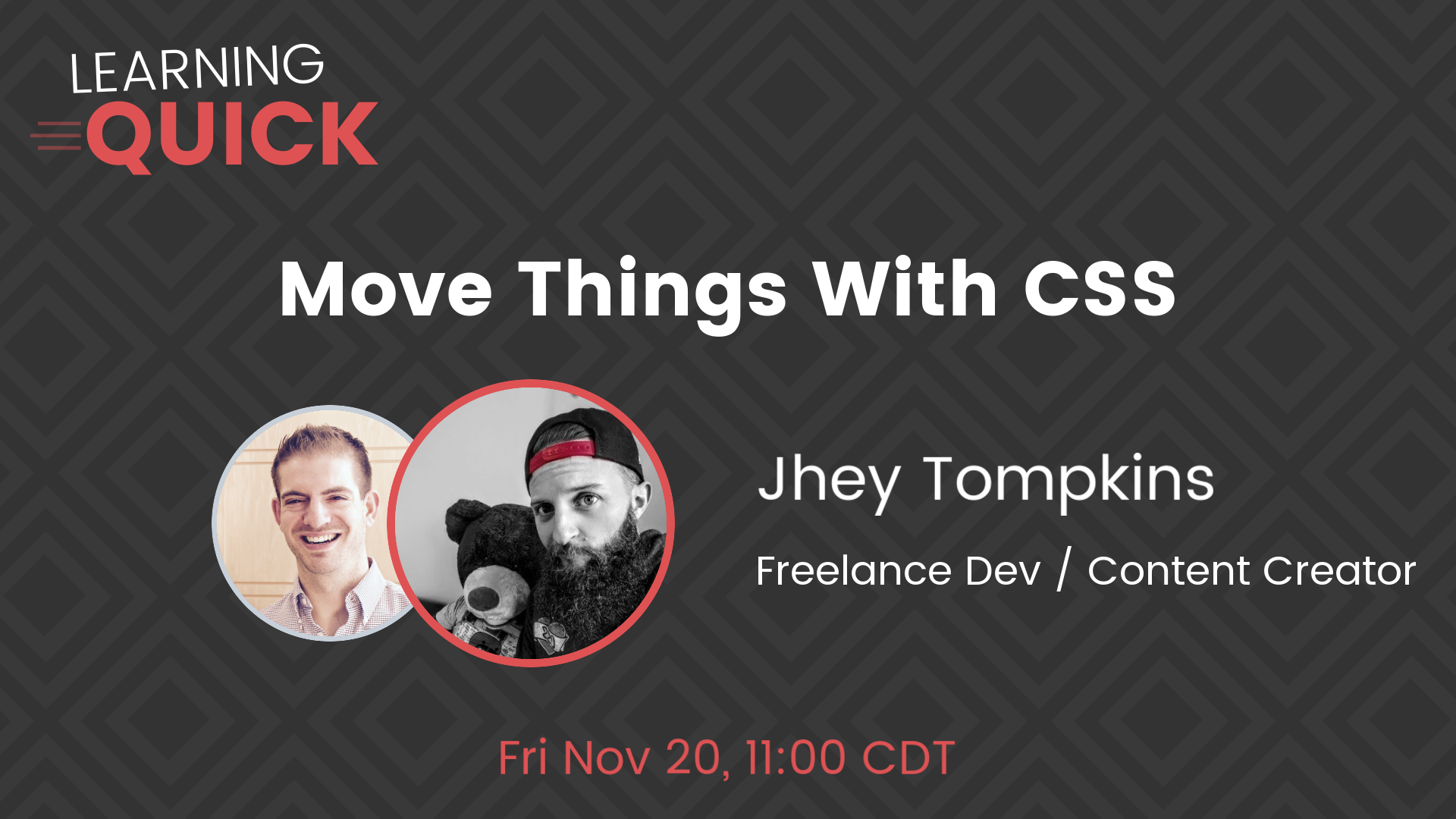 Move Things With CSS with Jhey Tompkins