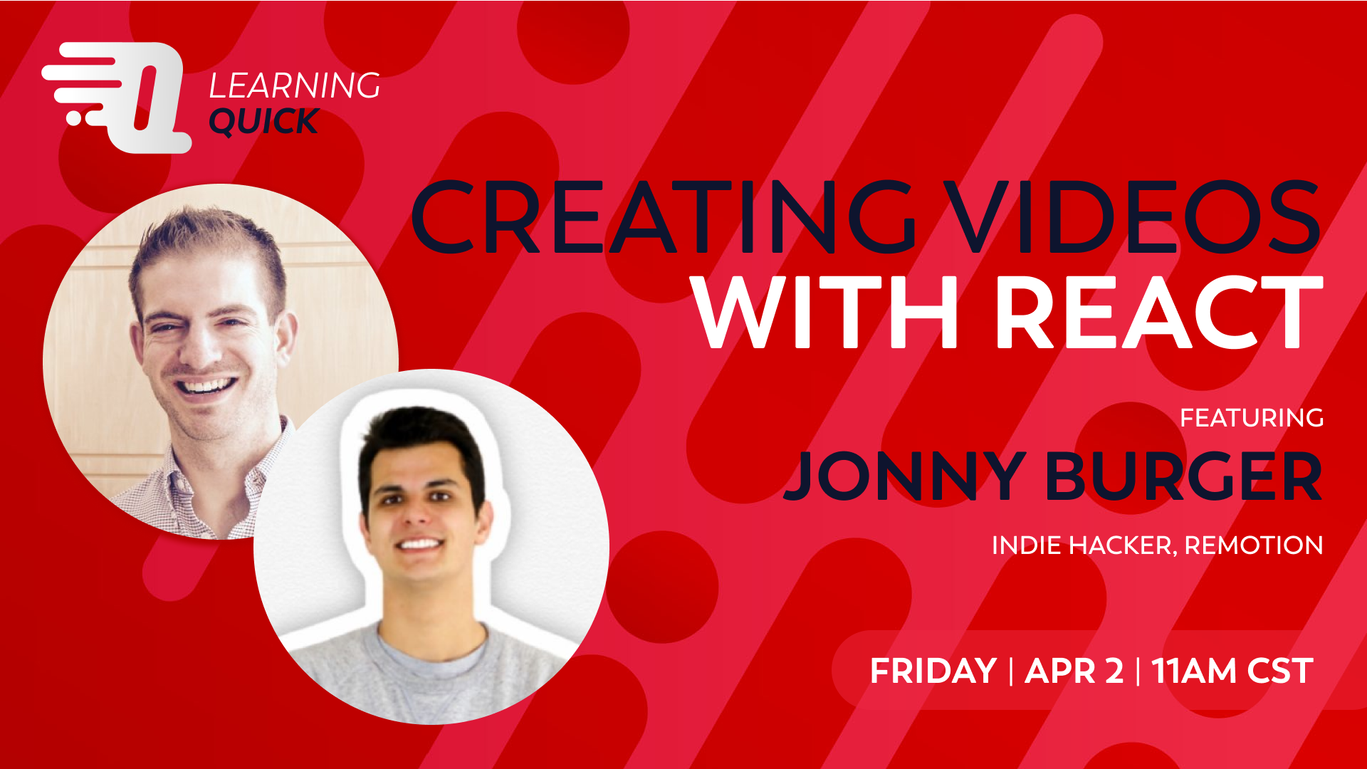 Creating videos in React with Remotion! with Jonny Burger