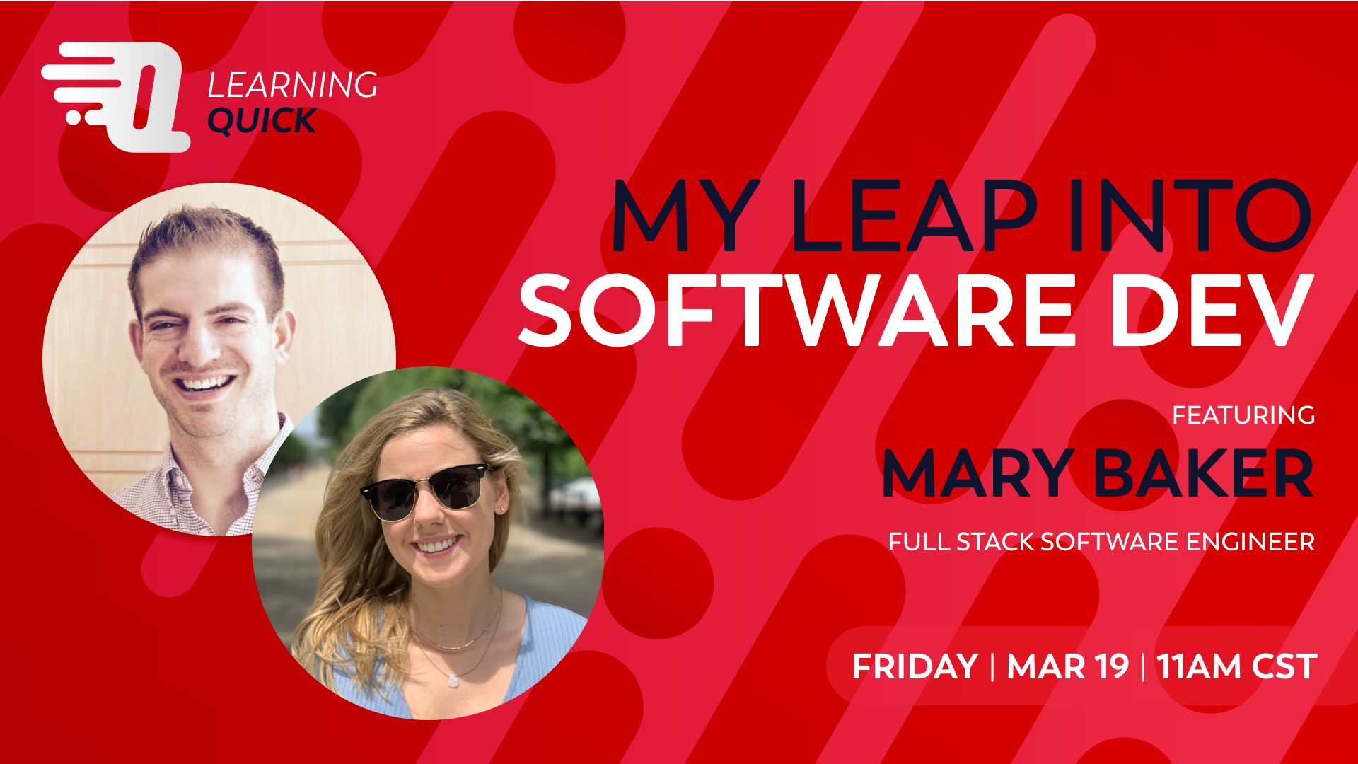 My Leap into Software Dev with Mary Baker