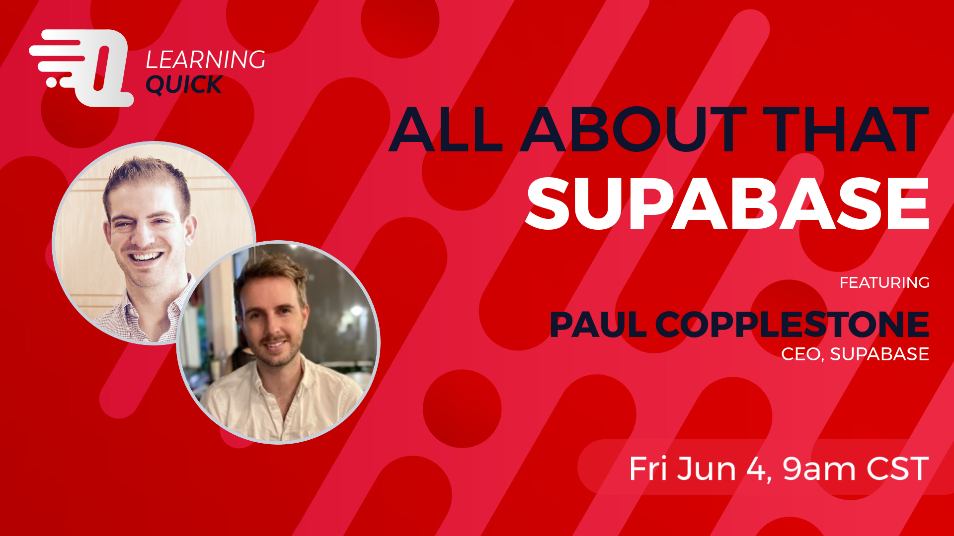 All About That Supabase with Paul Copplestone