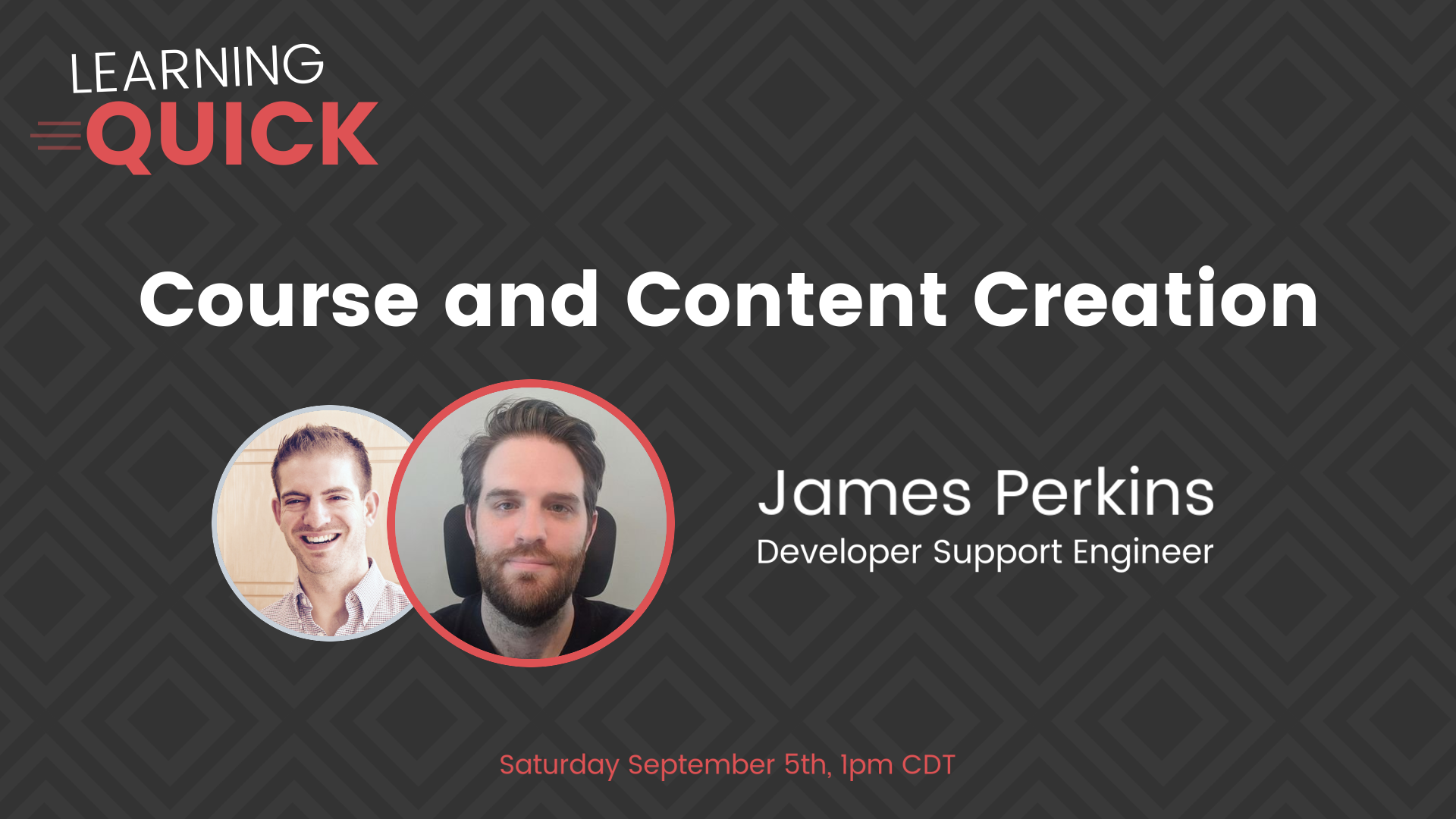 Course and Content Creation with James Perkins