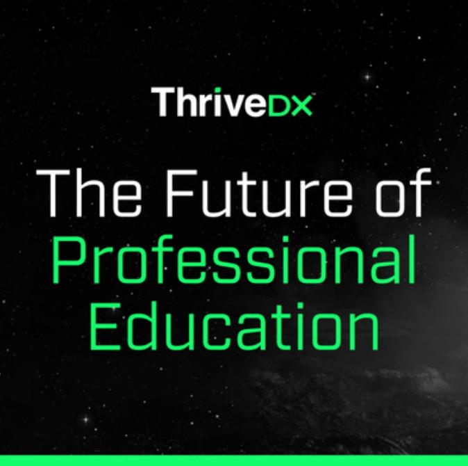 The Future of Professional Education
