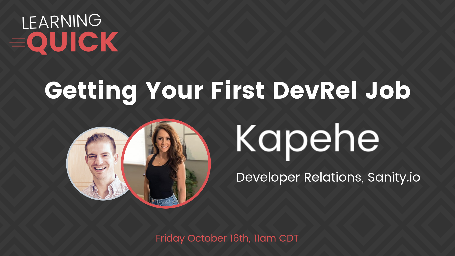 Getting Your First DevRel Job with Kapehe