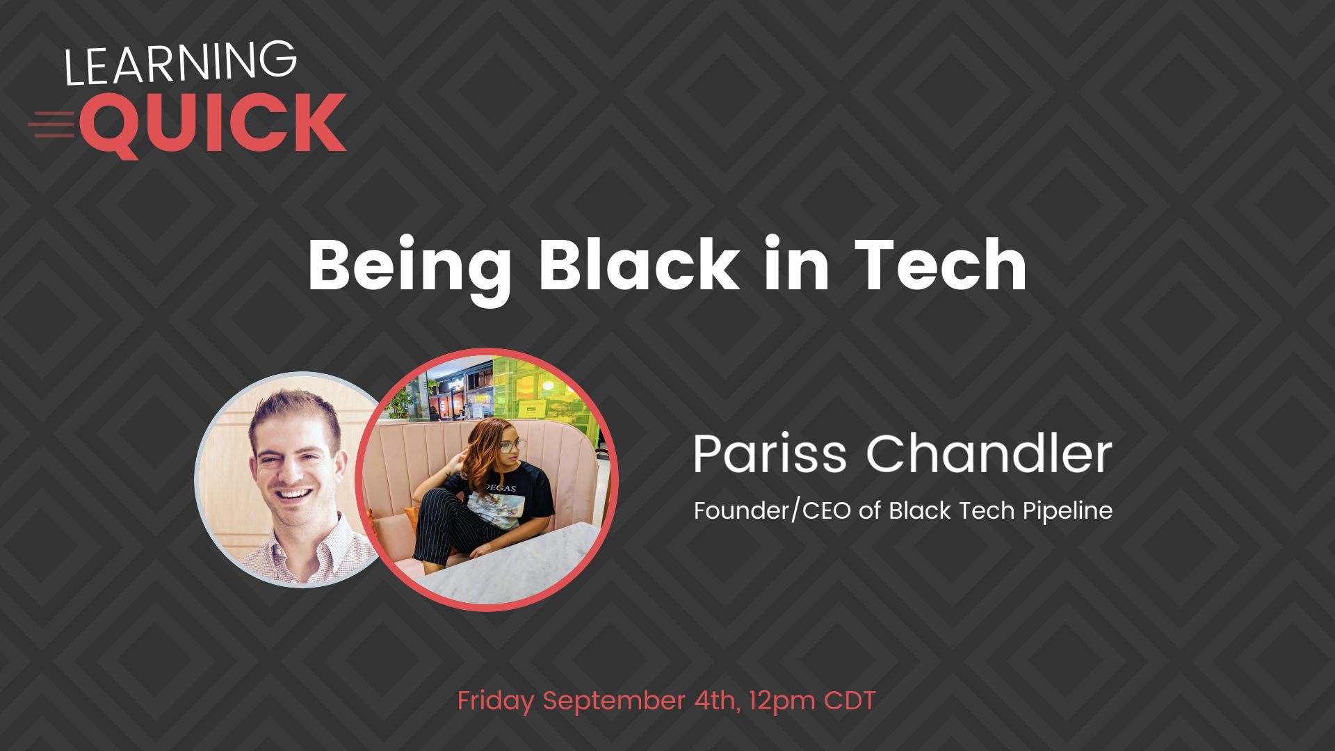 Being Black in Tech With Pariss Chandler