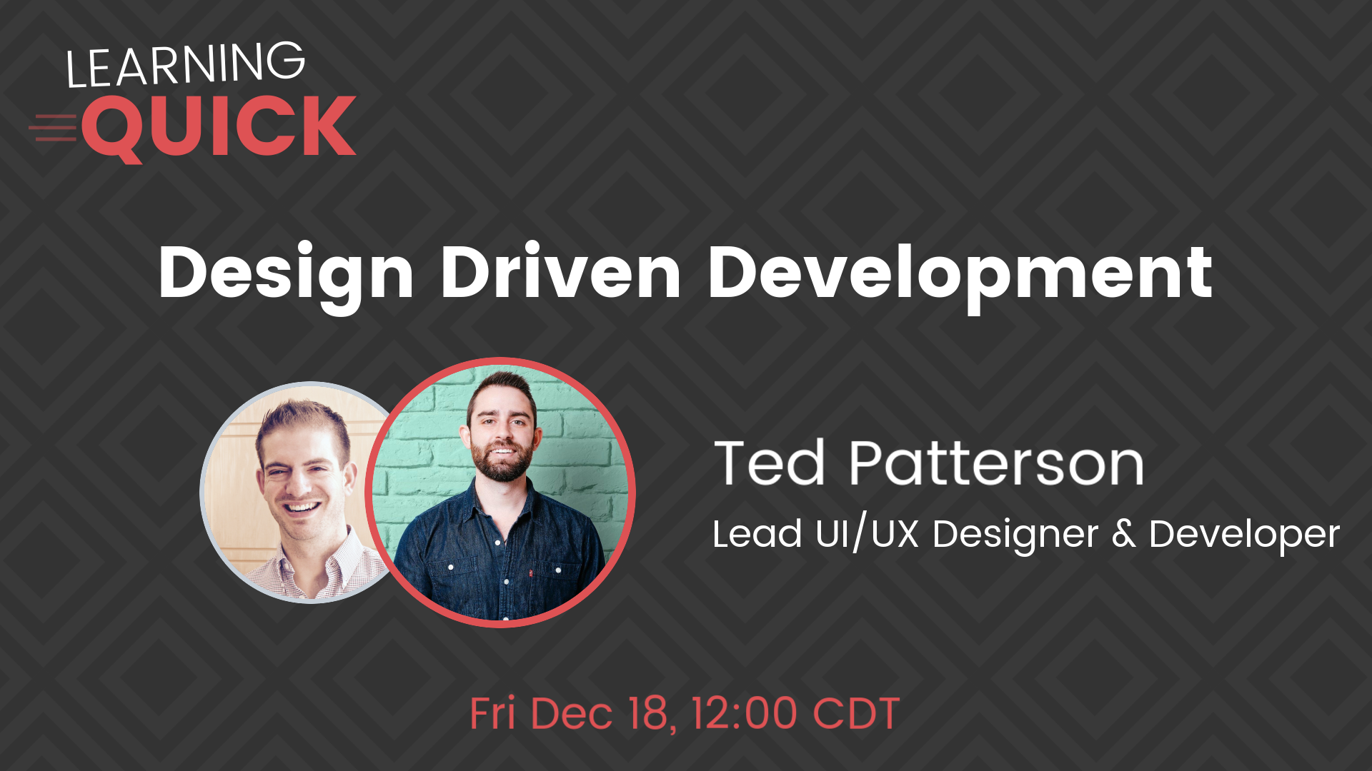 Design Driven Development with Ted Patterson