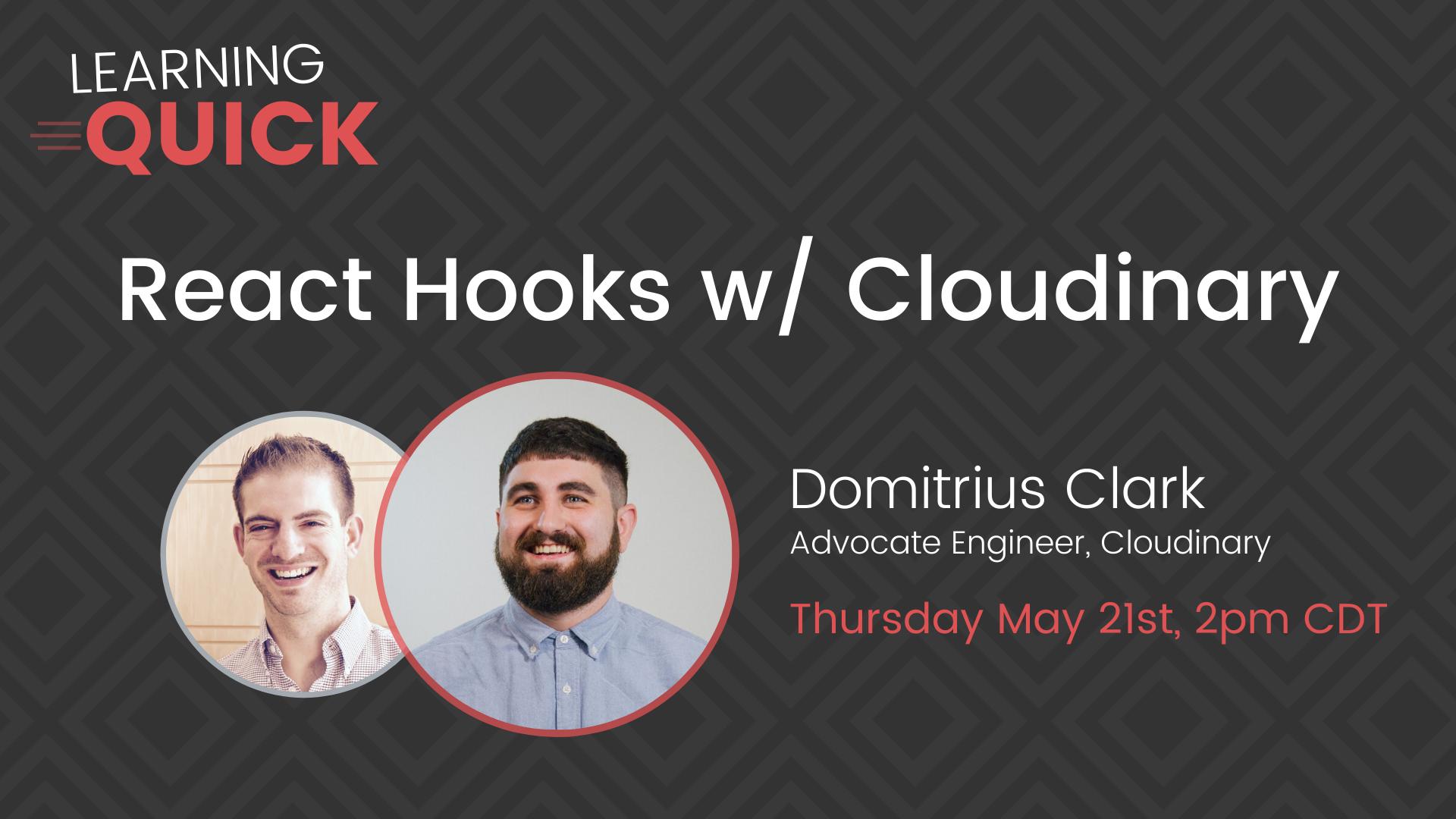 React Hooks with Cloudinary