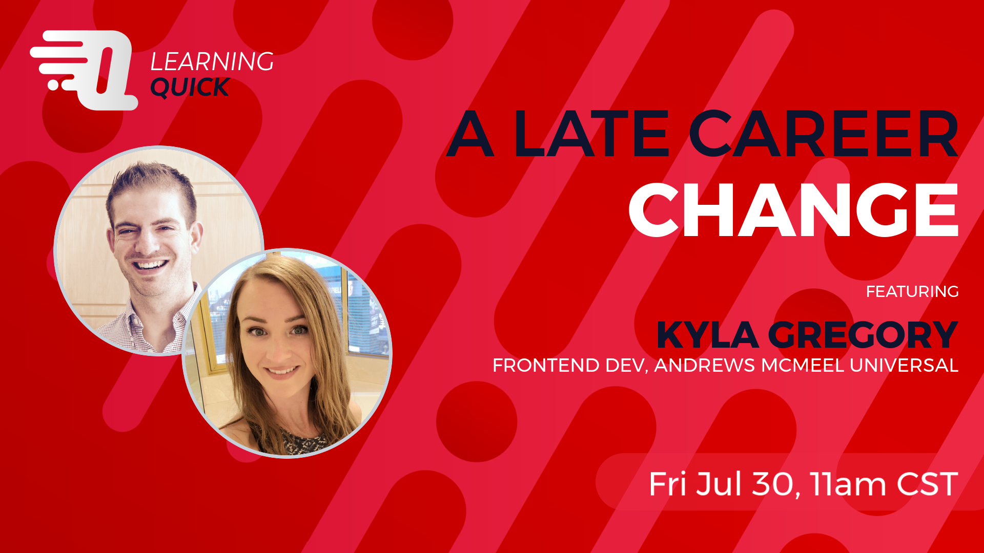 A Late Career Change with Kyla Gregory