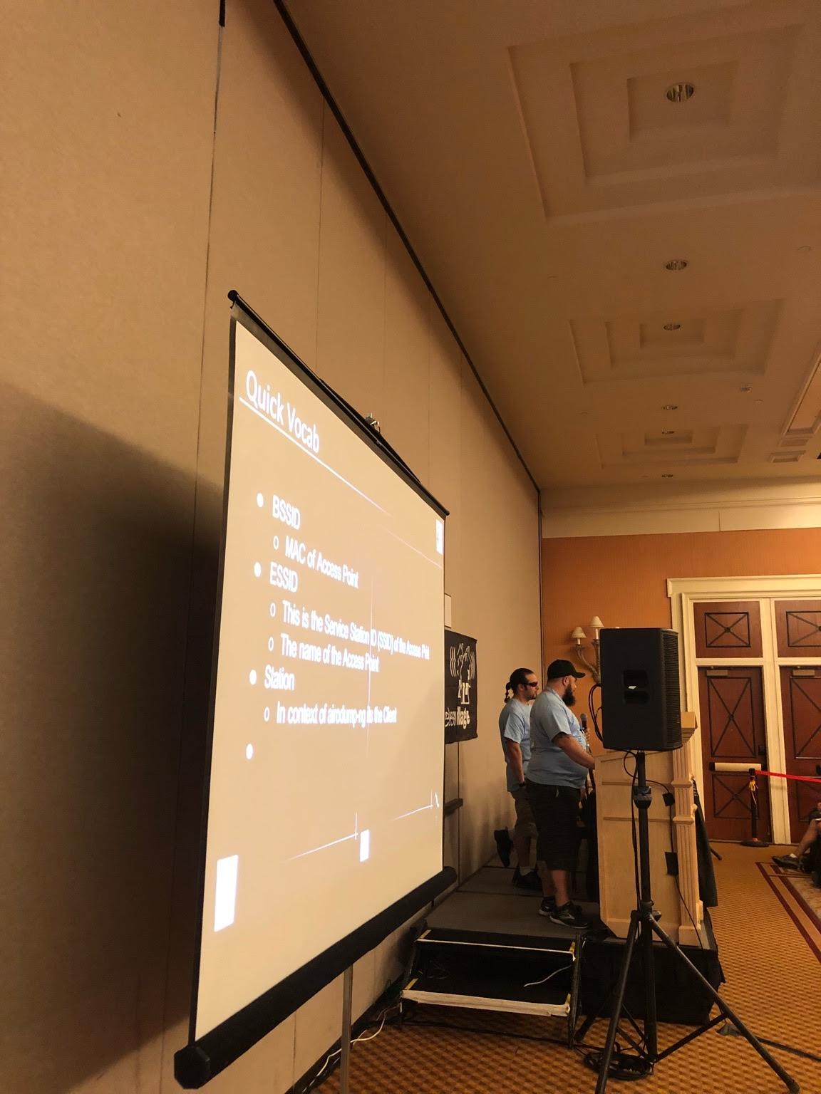 Zero and Wasabi presenting