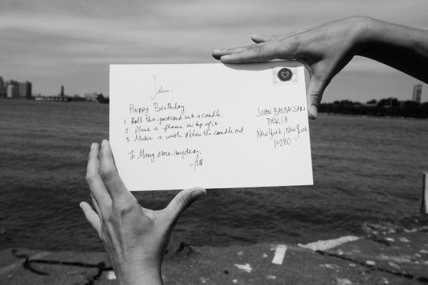 Postcards from the Pier (Detail: John Baldessari) | Fotografía digital | 2014