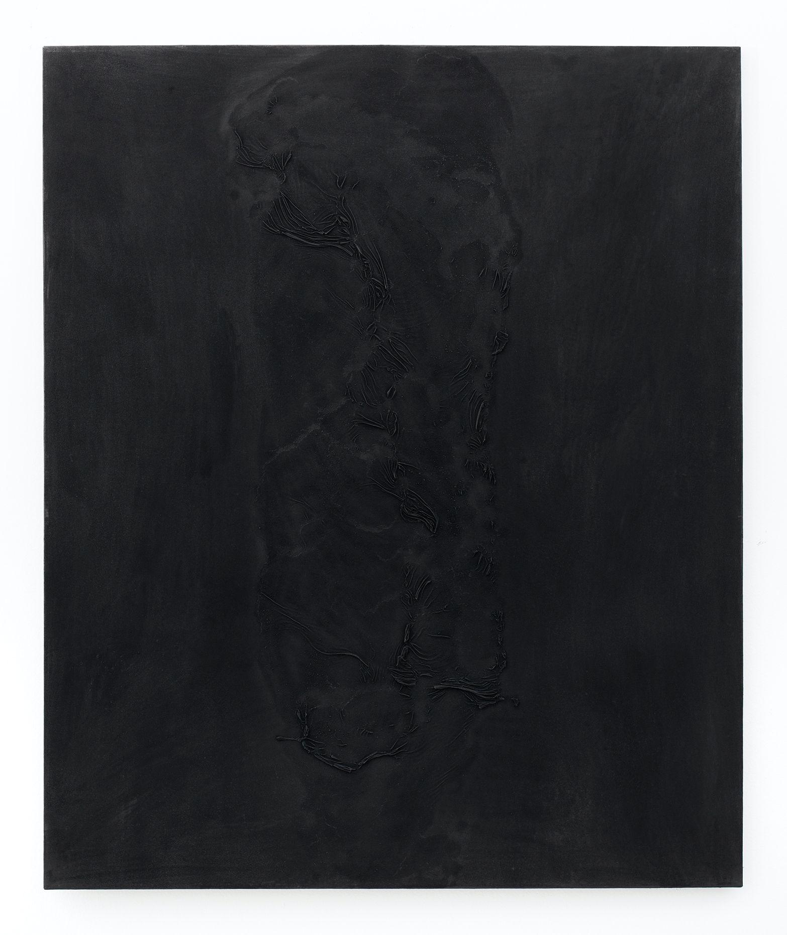Beatriz Zamora (1935) El negro 2597 2002 Tecnica mixta sobre tela   Mixed media on canvas 120 x 100cm  (47.24 x 39.37inches)