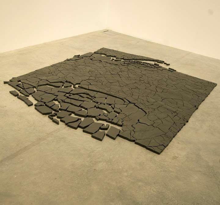 The Levy's Flight| Dibujos y piezas de cerámica |Medidas variables | 2009