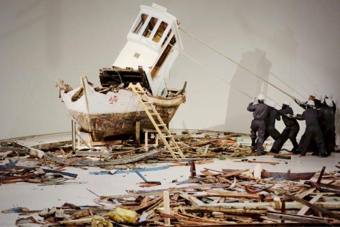 Ordem e Progresso an exhibition by Héctor Zamora at Viborg Kunsthal