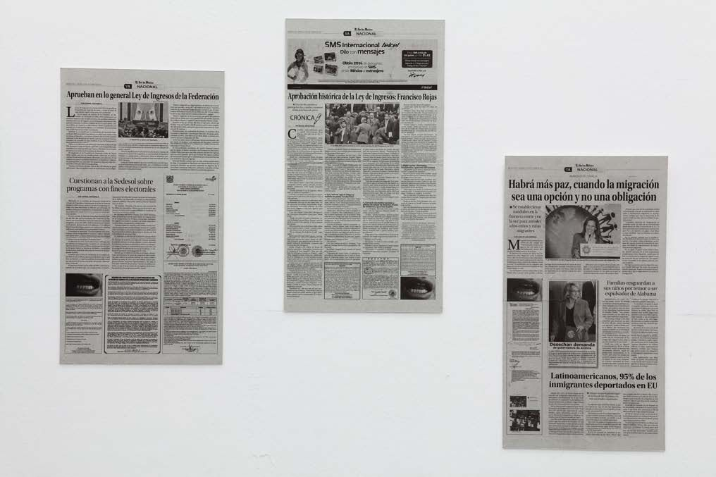 Dog/God | 23 periódicos | 58 x 32 cm c/u 2011