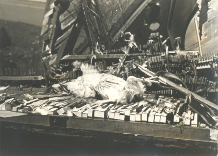 Henny Penny Piano Destruction | New York City, 1967 | 2011