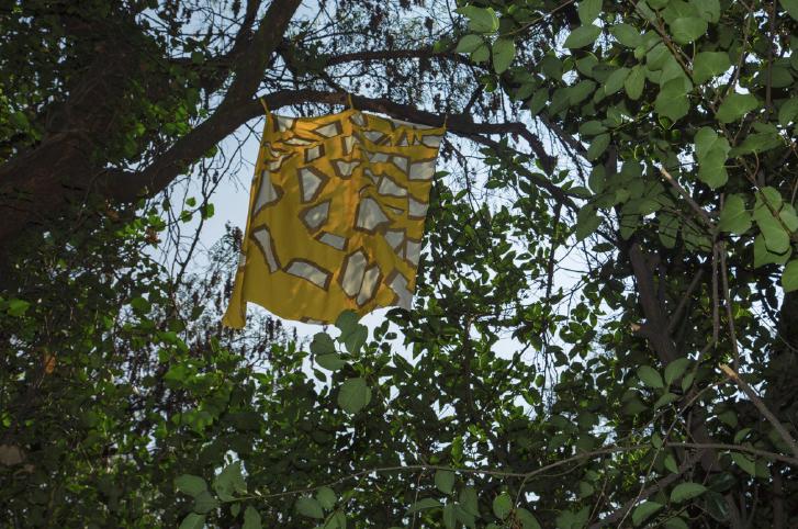 Mariposario | 80 banderas | Dimensiones variables | 2011-2014