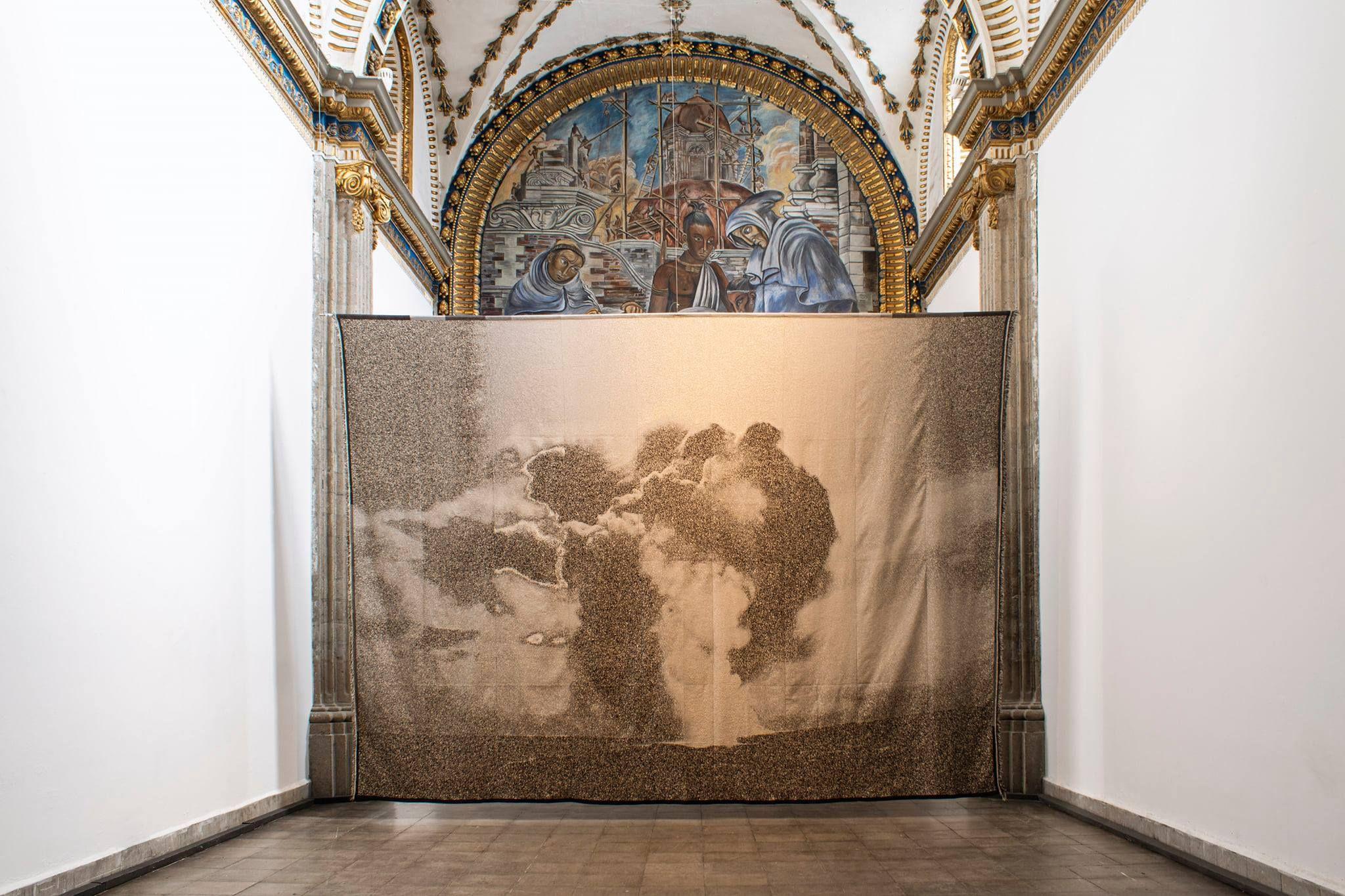 Antonio Vega Macotela en el Laboratorio Arte Alameda