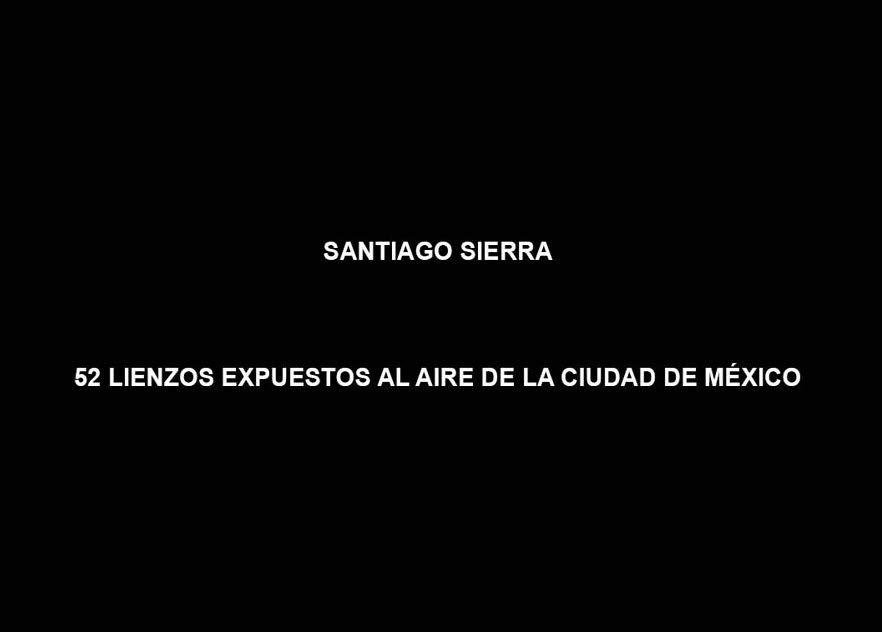 52 Lienzos expuestos al aire de la Ciudad de México