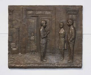 Memorial for the Losers of the Reunification | Bronce | 91cm x 107 cm | 2013