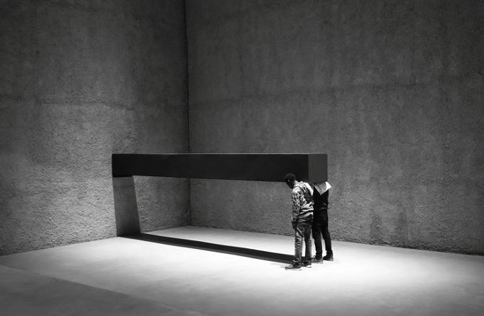 Santiago Sierra exhibition at PAC Padiglione d'Arte Contemporanea