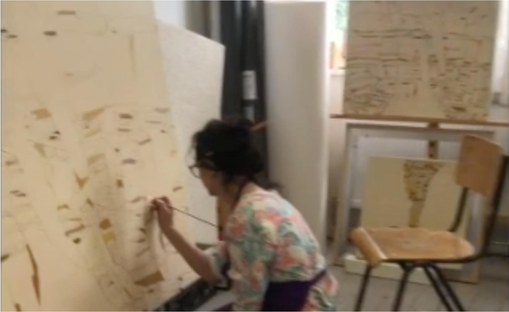 Irene Kopelman   Studio Visit, 2020