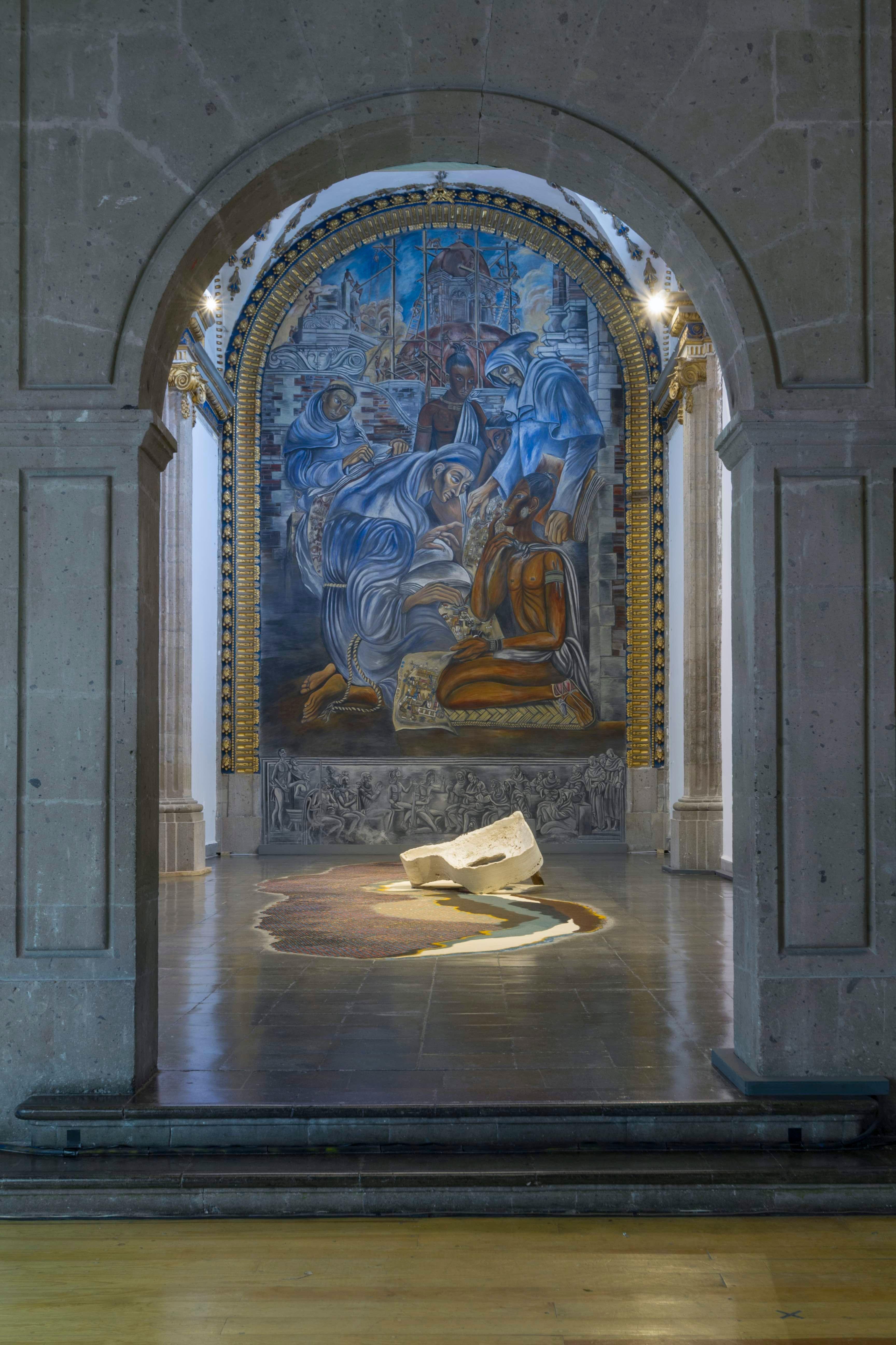 Actos de Dios, vista de instalación en Laboratorio Arte Alameda, 2019. (vista de instalación)