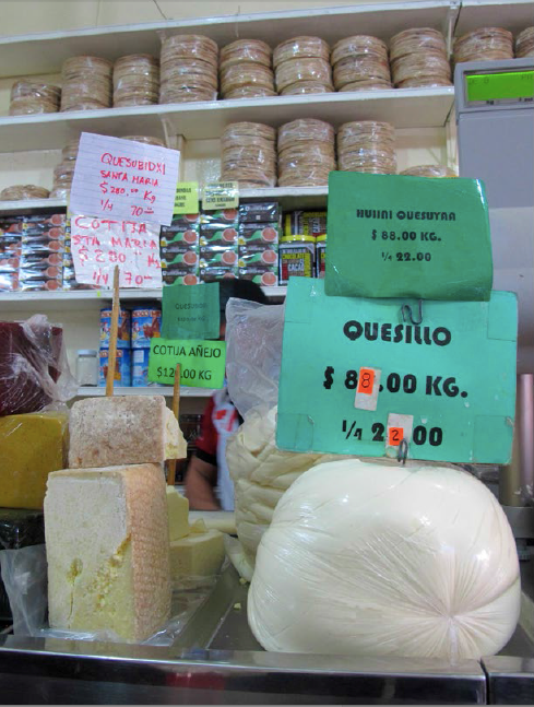 Sign Installations in Oaxacan Stores | Corredor comercial Soledad, Centro Histórico, Oaxaca, México | 2014