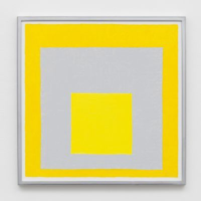 Homage to the Square, 1963, After Josef Albers | Aceite sobre cartón duro | 40,64 x 40,64 cm | 2014