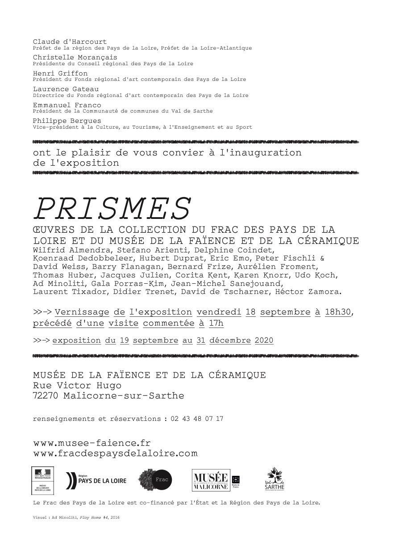 Héctor Zamora y Gala Porras-Kim participan en «Prismes»