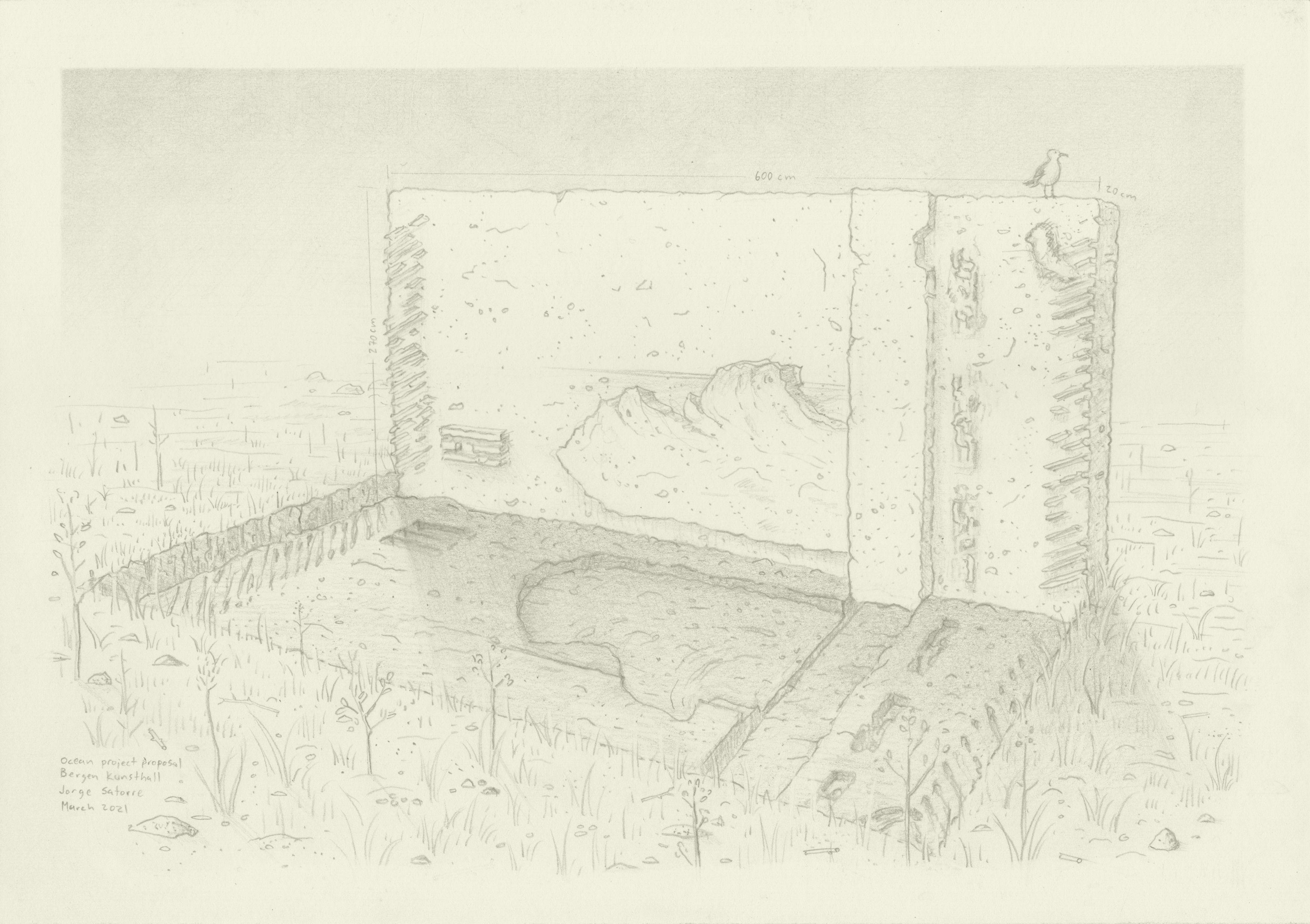 """El trabajo de Jorge Satorre formará parte de """"The Ocean"""" en la Bergen Kunsthall"""