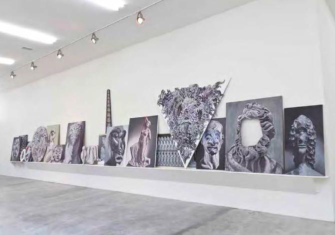 Cómo perderle el miedo a la pintura | Vista de instalación | 2012