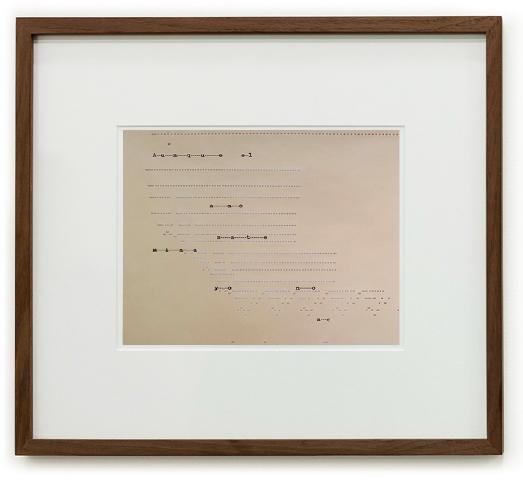 El cincel y el socavón | 13 dibujos a lápiz sobre papel algodón perforado | 81 x 75 x 2 cm | 2016-2017